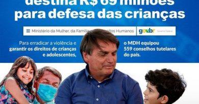 Governo Bolsonaro destina R$ 69,4 milhões para os Conselhos Tutelares