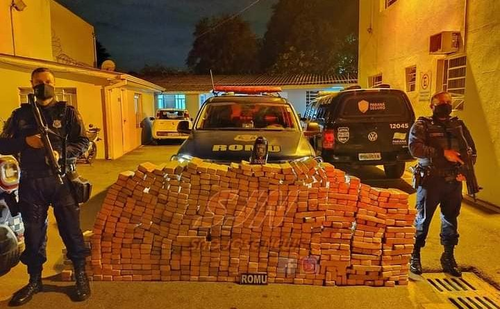 Guarda Civil apreende 500 kg de maconha