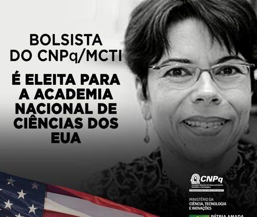 Bolsista brasileira é eleita para a Academia Nacional de Ciências (NAS)