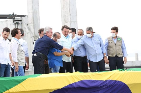 Presidente Bolsonaro inaugura 4° trecho do Canal do Sertão