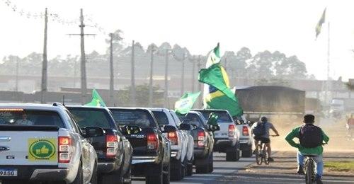 Mega Manifestação do Agronegócio em apoio ao Presidente Bolsonaro